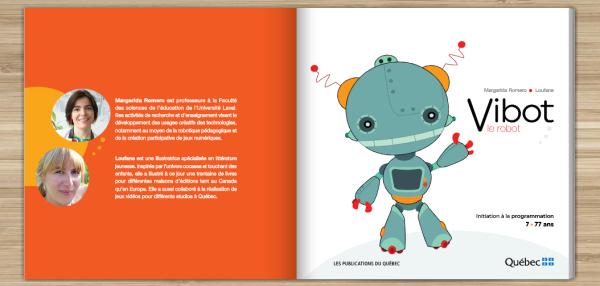 Vibot le robot Romero et Loufane 2016