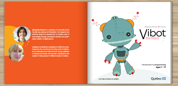 Vibot the robot Romero & Loufane 2016